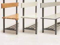 Sitzbank-Lattung
